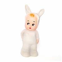 Lampe veilleuse Baby Lapin - Blanc