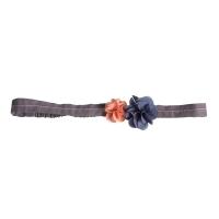 Headband Fleurs - Denim