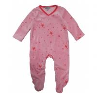 Pyjama bébé étoiles - Rose