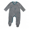 Pyjama bébé étoiles - Gris