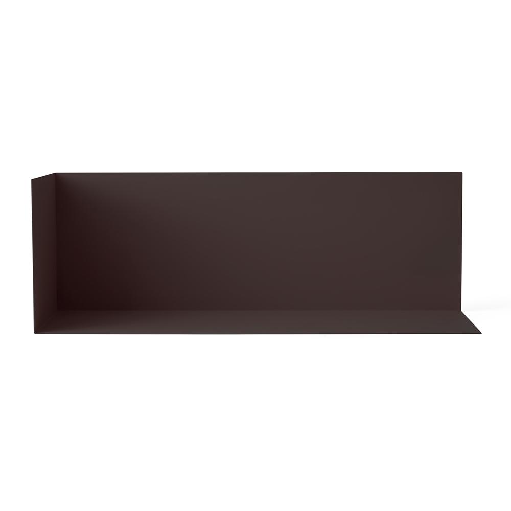Etag re d 39 angle l noir menu pour chambre enfant les for Etagere d angle murale pour tv