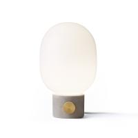 Lampe JWDA concrete - Gris clair et Laiton
