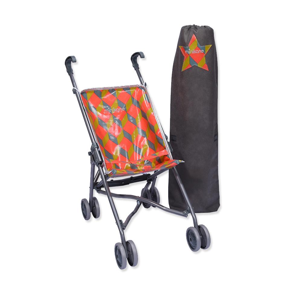 poussette pour poup e cubik minikane pour chambre enfant. Black Bedroom Furniture Sets. Home Design Ideas