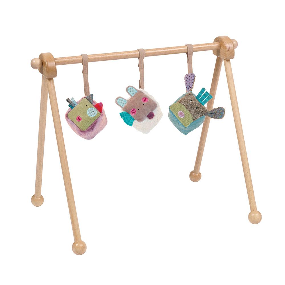 Portique en bois moulin roty pour chambre enfant les for Moulin roty chambre