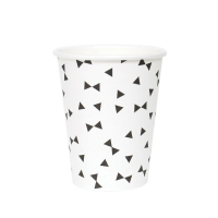 8 gobelets Noeuds - Noir