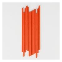 25 pailles - Orange