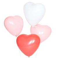 10 ballons Trio Coeur