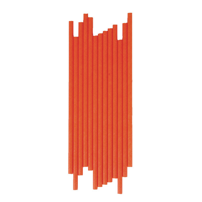 25 pailles - Orange - My Little Day Les Enfants du Design