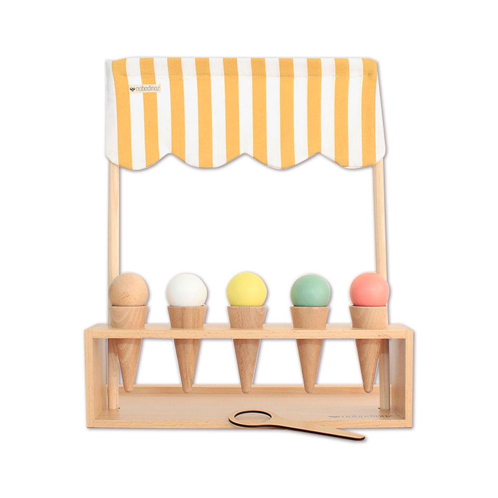 marchand de glaces nobodinoz pour chambre enfant les enfants du design. Black Bedroom Furniture Sets. Home Design Ideas