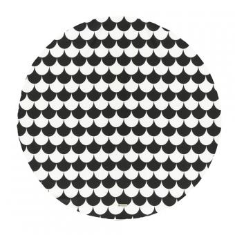 tapis apache pour tipi ecailles noir nobodinoz pour. Black Bedroom Furniture Sets. Home Design Ideas