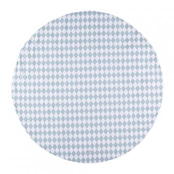 tapis apache pour tipi losanges bleu nobodinoz pour. Black Bedroom Furniture Sets. Home Design Ideas