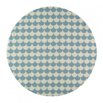 tapis apache pour tipi ecailles bleu nobodinoz pour. Black Bedroom Furniture Sets. Home Design Ideas