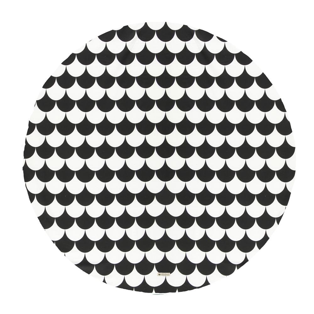 tapis apache pour tipi ecailles noir nobodinoz pour chambre enfant les enfants du design. Black Bedroom Furniture Sets. Home Design Ideas