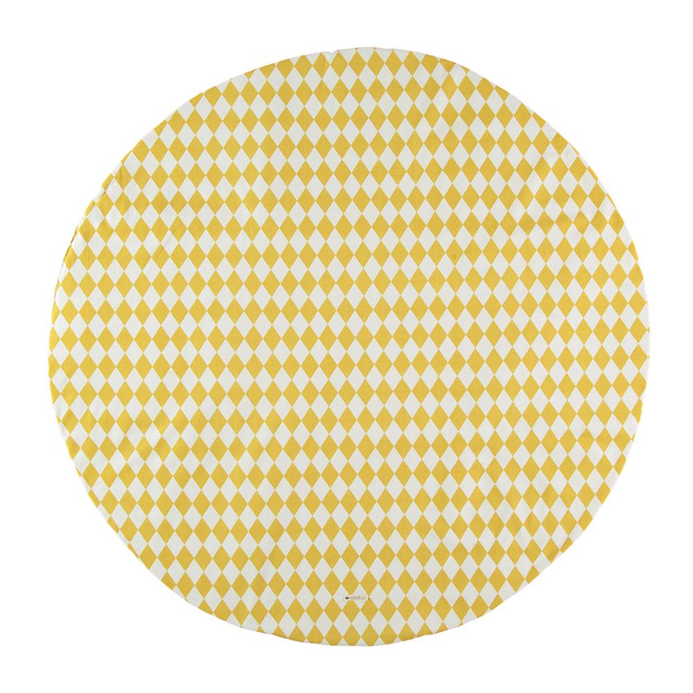 tapis apache pour tipi losanges miel nobodinoz pour. Black Bedroom Furniture Sets. Home Design Ideas