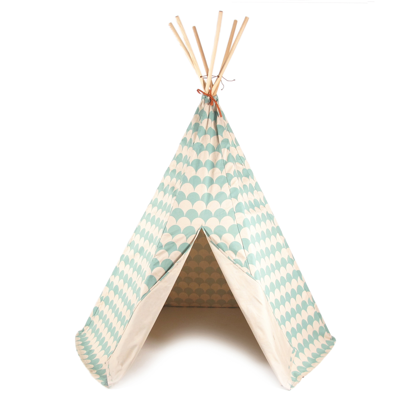 tipi arizona ecailles vert tropical nobodinoz pour chambre enfant les enfants du design. Black Bedroom Furniture Sets. Home Design Ideas