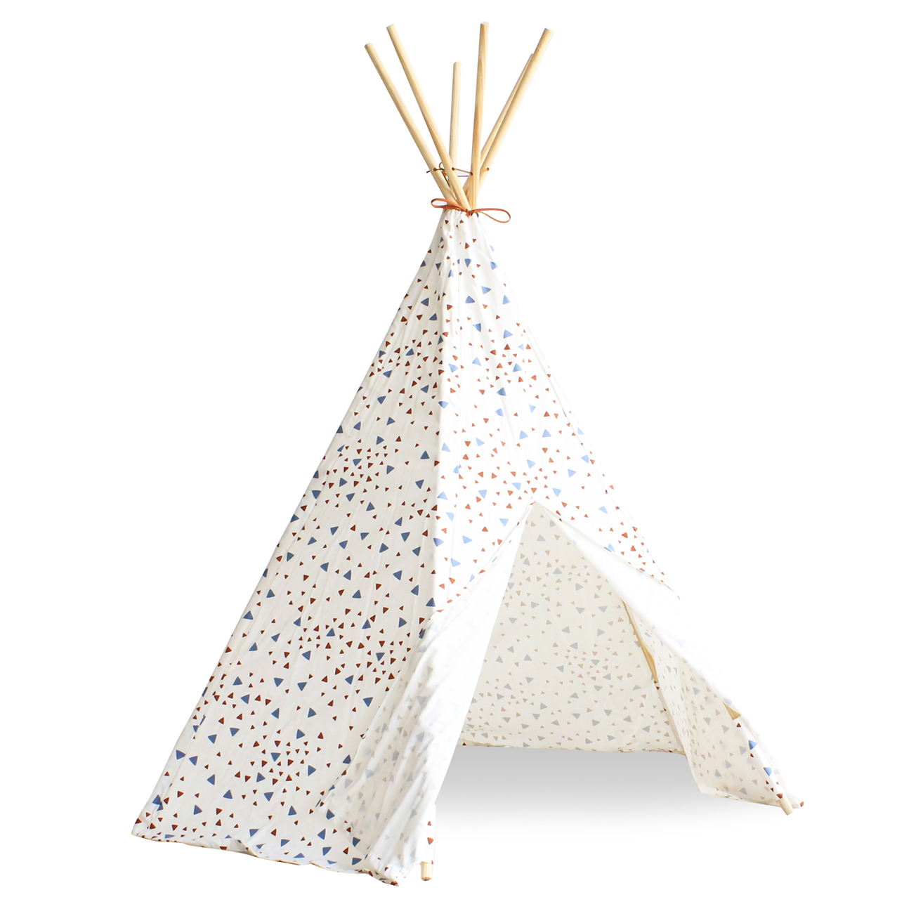 tipi arizona eclairs bleu rouge orient nobodinoz pour chambre enfant les enfants du design. Black Bedroom Furniture Sets. Home Design Ideas
