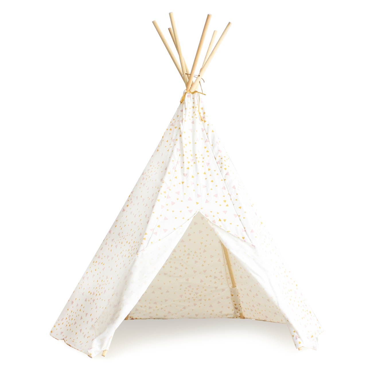 tipi arizona eclairs rose jaune nobodinoz pour chambre enfant les enfants du design. Black Bedroom Furniture Sets. Home Design Ideas