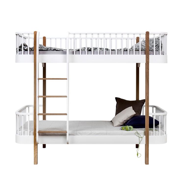 lit superpos wood chelle face ch ne oliver furniture pour chambre enfant les enfants du design. Black Bedroom Furniture Sets. Home Design Ideas