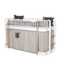 Rideau cabane pour lit mezzanine Wood