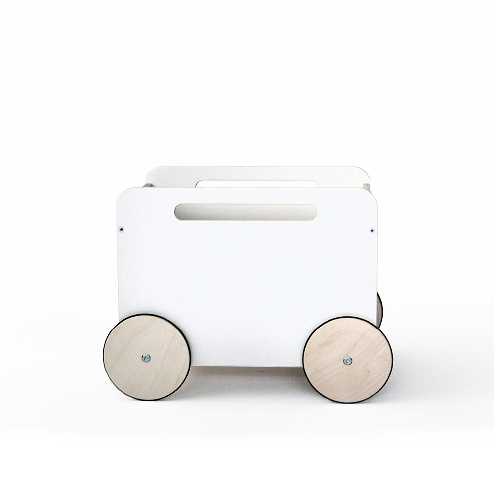 coffre jouets sur roues ooh noo pour chambre enfant. Black Bedroom Furniture Sets. Home Design Ideas