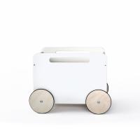 Coffre à jouets sur roues