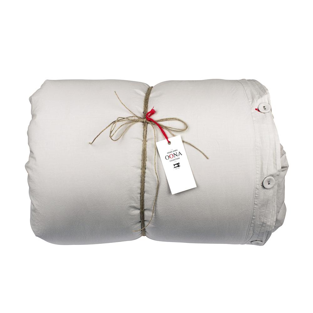 Housse de couette coton nuage oona pour chambre enfant for Housse de couette coton