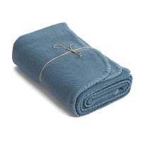 Drap de bain Coton - bleu canard