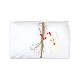 Drap Housse Coton - blanc