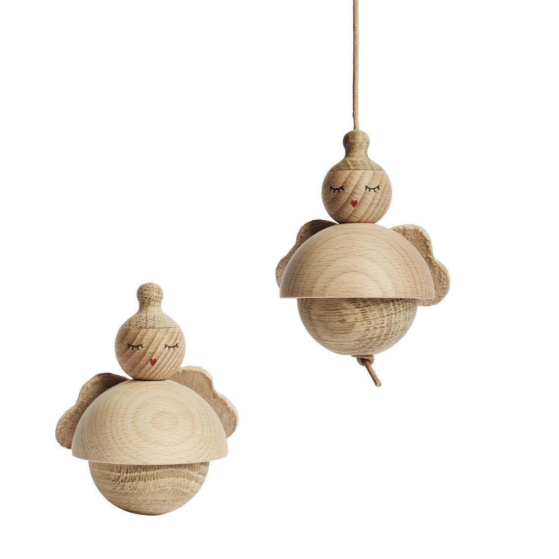 Petit Ange en bois OYOY pour chambre enfant  Les Enfants  ~ Petit Objet En Bois