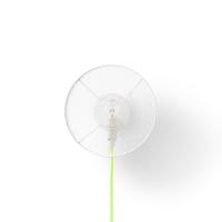 Applique GrillO câble petite - Jaune fluo