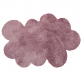 tapis nuage mauve gris pilepoil pour chambre enfant. Black Bedroom Furniture Sets. Home Design Ideas