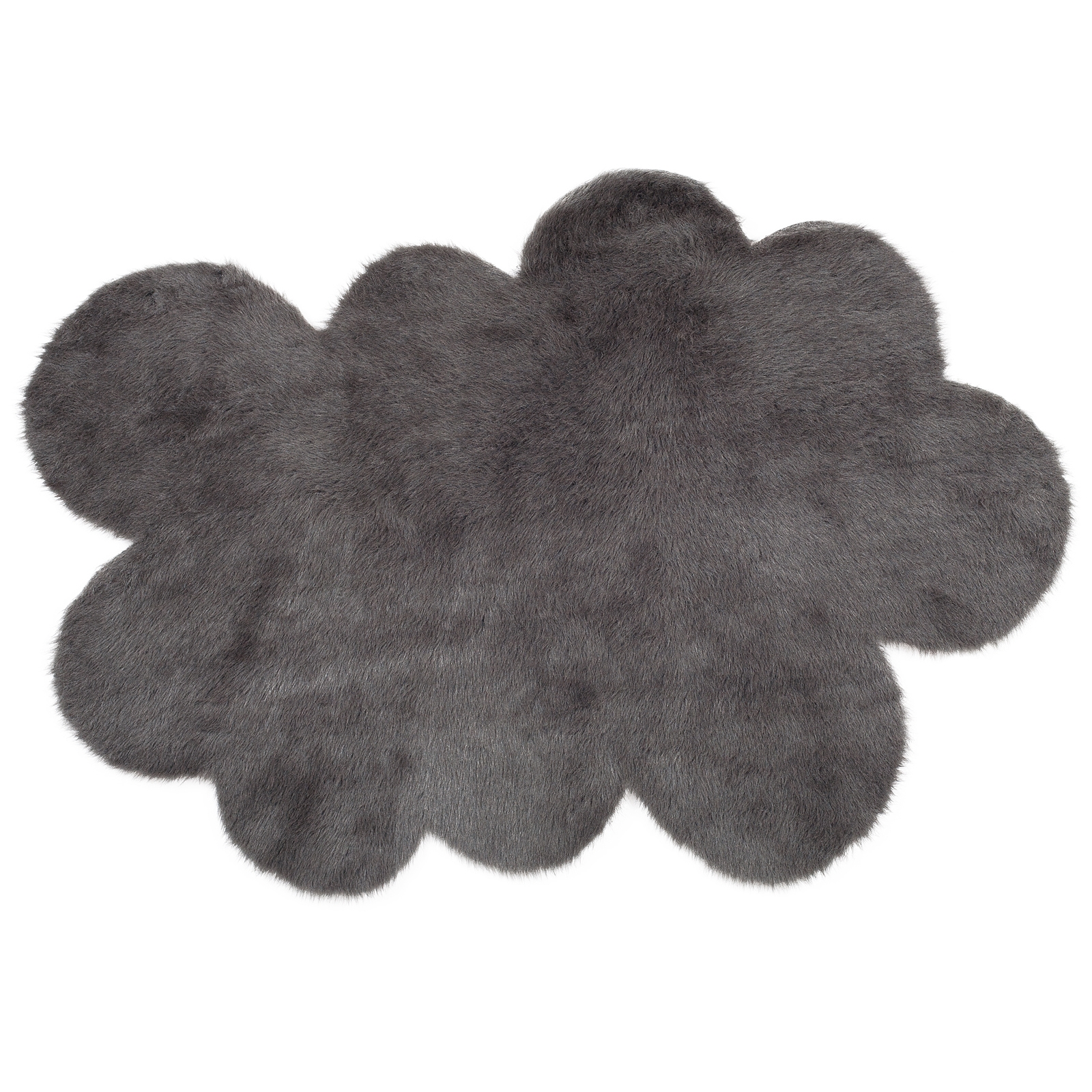 tapis nuage gris anthracite pilepoil pour chambre enfant. Black Bedroom Furniture Sets. Home Design Ideas