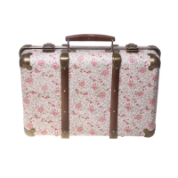 Valise vintage Liberty Roses