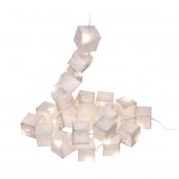 Guirlande cubiste, 25 lampes