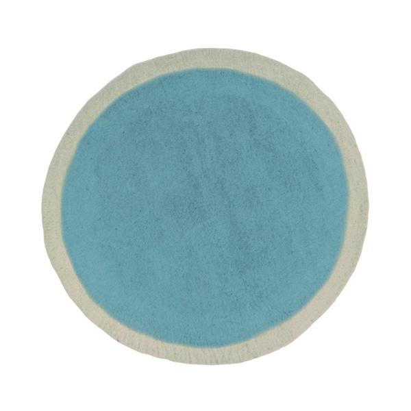 Tapis lumbini 120 cm turquoise pastel muskhane pour chambre enfant les en - Tapis turquoise enfant ...