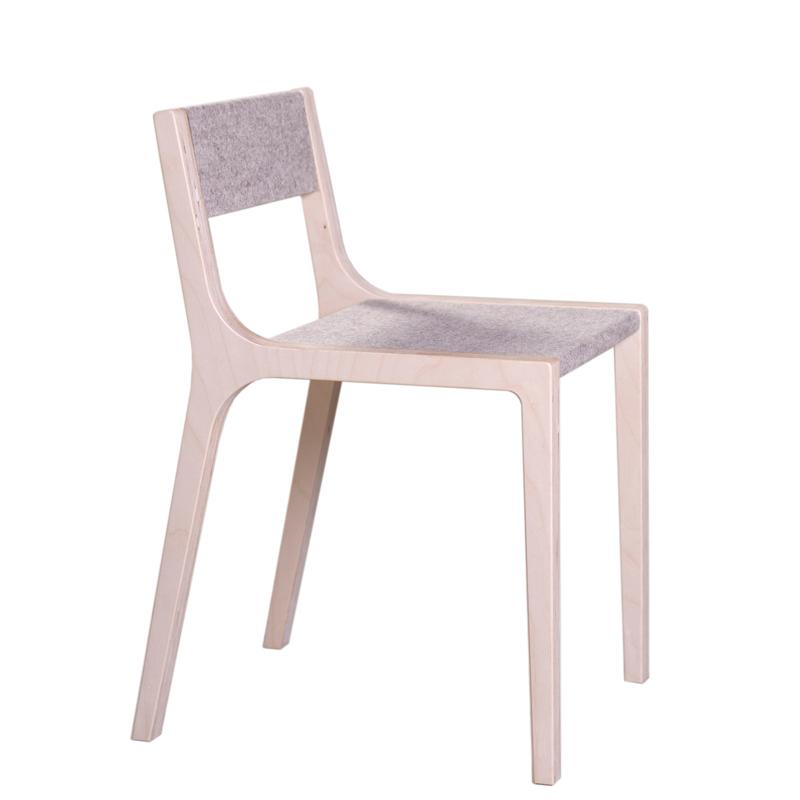 Chaise de bureau design slawomir gris sirch pour chambre - Bureau et chaise enfant ...