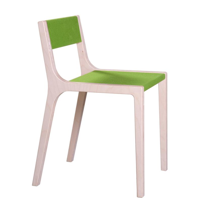 Chaise de bureau design slawomir vert sirch pour chambre for Chaise de bureau jaune