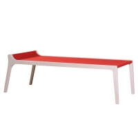 Banc enfant design Erykah - Rouge