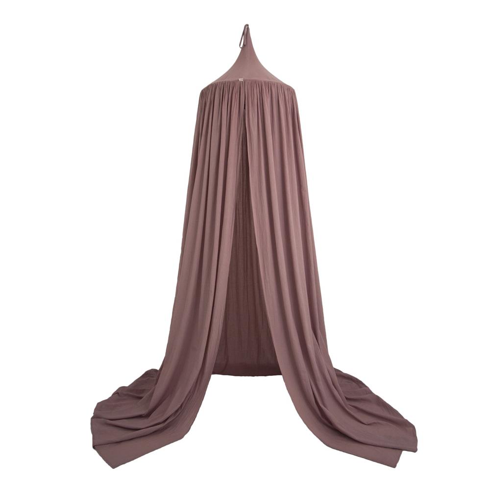 Ciel de lit canopy vieux rose num ro 74 pour chambre - Ciel de lit gris ...