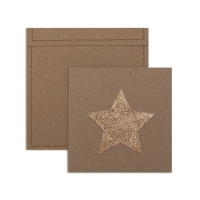 6 cartes invitation Etoile
