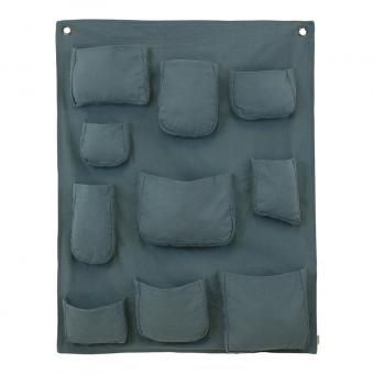 Pochette murale - Bleu gris