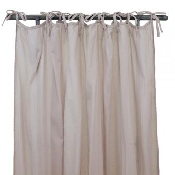 rideau fin fronc rose poudr num ro 74 pour chambre. Black Bedroom Furniture Sets. Home Design Ideas