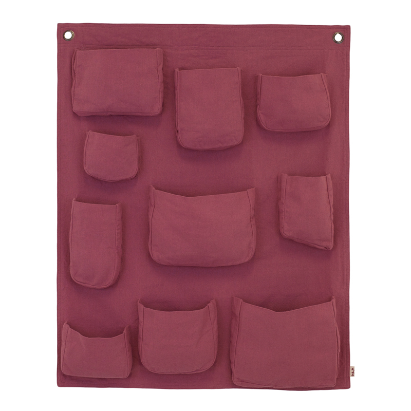 pochette murale rose baobab num ro 74 pour chambre enfant les enfants du design. Black Bedroom Furniture Sets. Home Design Ideas