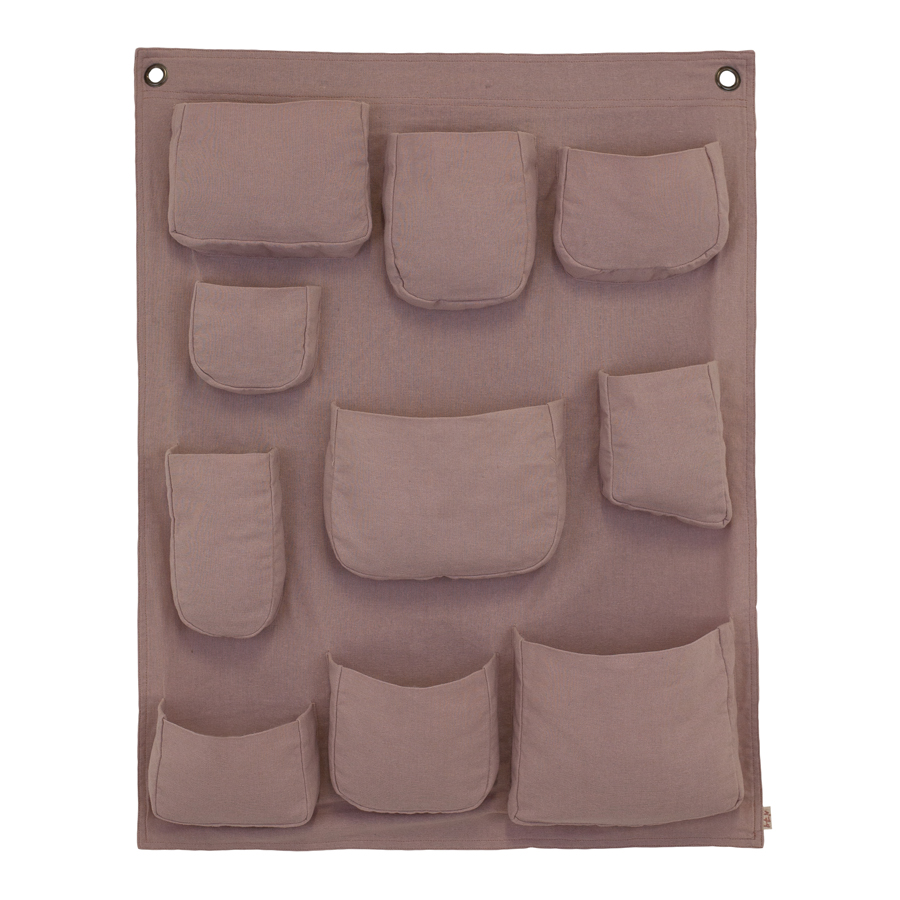 pochette murale vieux rose num ro 74 pour chambre enfant les enfants du design. Black Bedroom Furniture Sets. Home Design Ideas