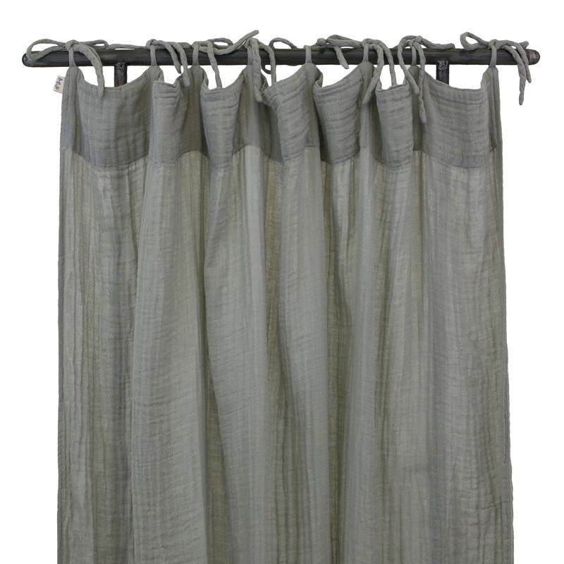 rideau gris num ro 74 pour chambre enfant les enfants du design. Black Bedroom Furniture Sets. Home Design Ideas