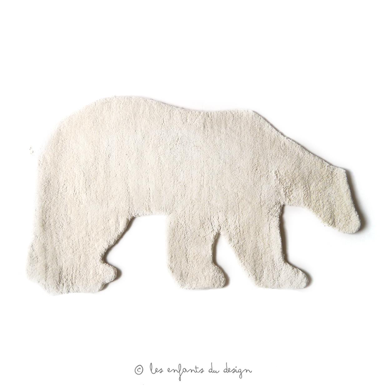 tapis ours le ons de choses pour chambre enfant les enfants du design. Black Bedroom Furniture Sets. Home Design Ideas