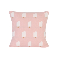 Coussin Ice Cream - Rose pastel