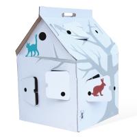 Casa Cabana - Maison en carton avec motifs