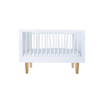 Lit bébé design Zebra Basic avec kit de conversion