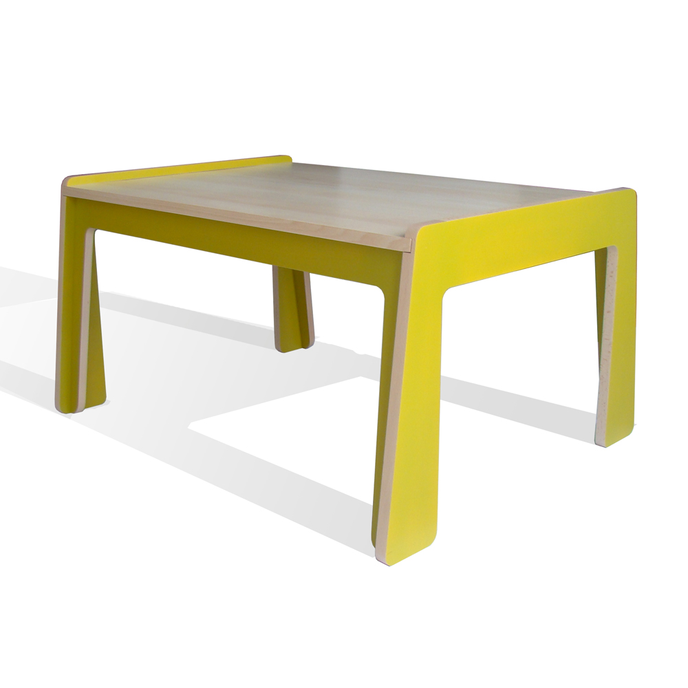 Table volume z ro vert studio roof pour chambre enfant for Table a dessin